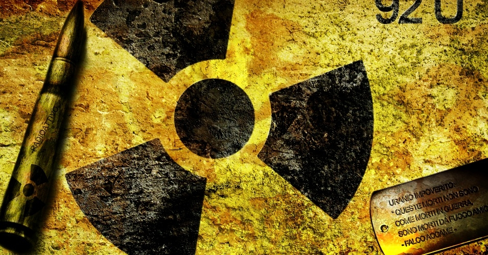 depleted uranium is a byproduct of uranium, and its half-life is 4.5 billion years